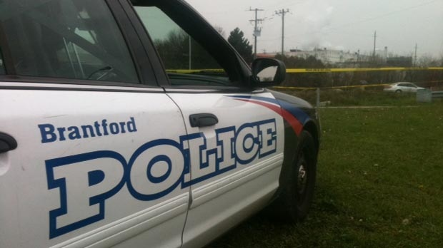 A Brantford Police Service vehicle is seen in this file photo from November 2012. (Phil Molto / CTV Kitchener)
