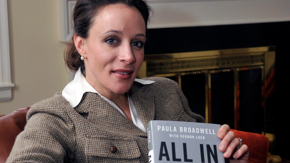 Paula Broadwell, author of the David Petraeus biography 'All In,' poses for photos in Charlotte, N.C. on Jan. 15, 2012. (The Charlotte Observer, T. Ortega Gaines)