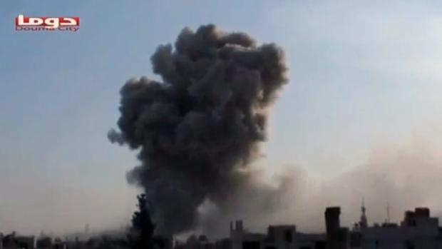 Douma, Syria, on Nov. 9, 2012.
