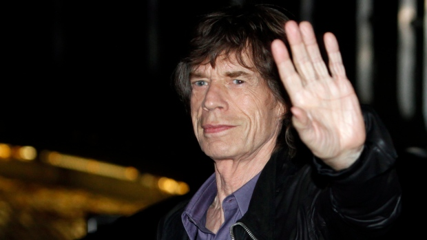 Mick Jagger in Paris, Oct. 25, 2012.