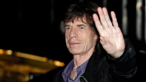 Mick Jagger in Paris, Oct. 25, 2012.