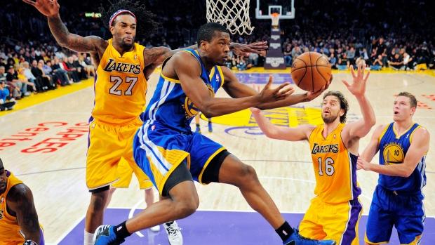 Golden State Warriors forward Harrison Barnes