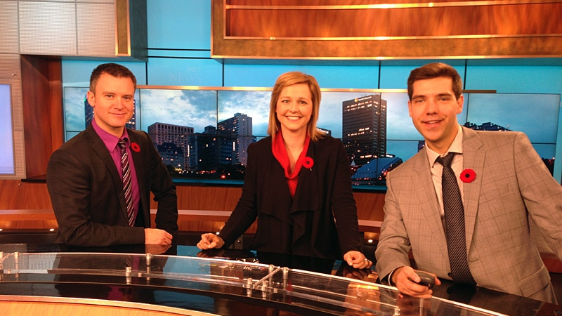 Beginning Nov. 12, CTV Morning Live expands to include new anchor Stacey Brotzel and weather specialist Jesse Beyer.