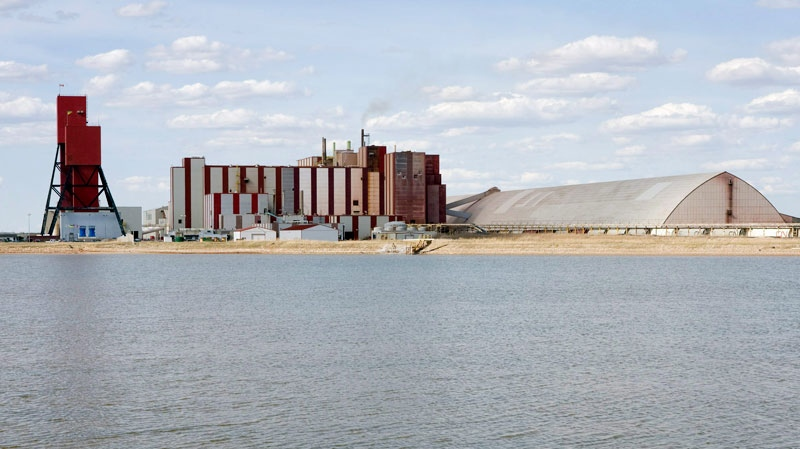 The Rocanville potash mine owned by the Potash Corporation of Saskatchewan in Rocanville, Sask. is shown in this 2007 photo. (Troy Fleece / THE CANADIAN PRESS)