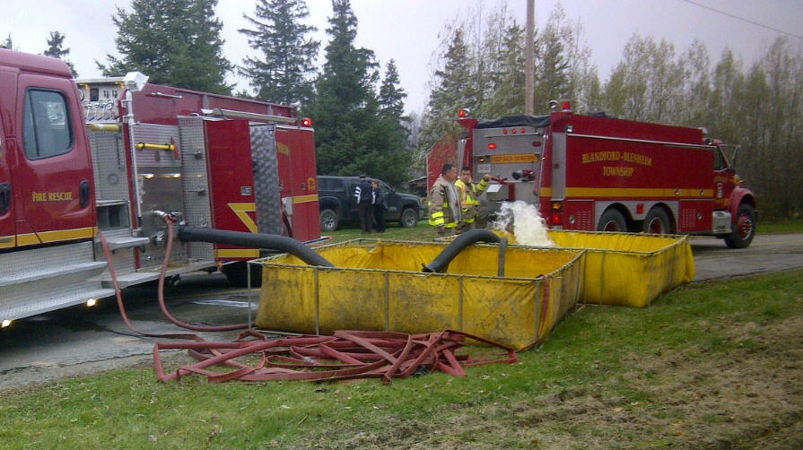 Fire at Snyders Family Farm near New Dundee | CTV ...