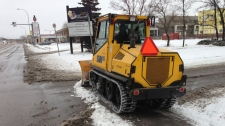 City of Winnipeg snow plow
