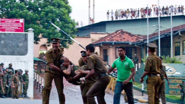 Sri Lankan prison riot leaves 27 dead