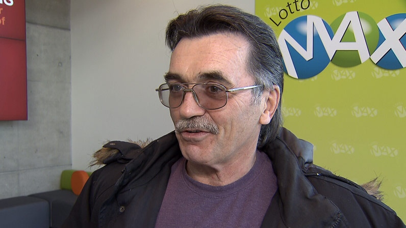 Pot activist Robert Erb, 60, says he will use his lottery winnings to help support the legalization of marijuana in B.C. November 10, 2012. (CTV)