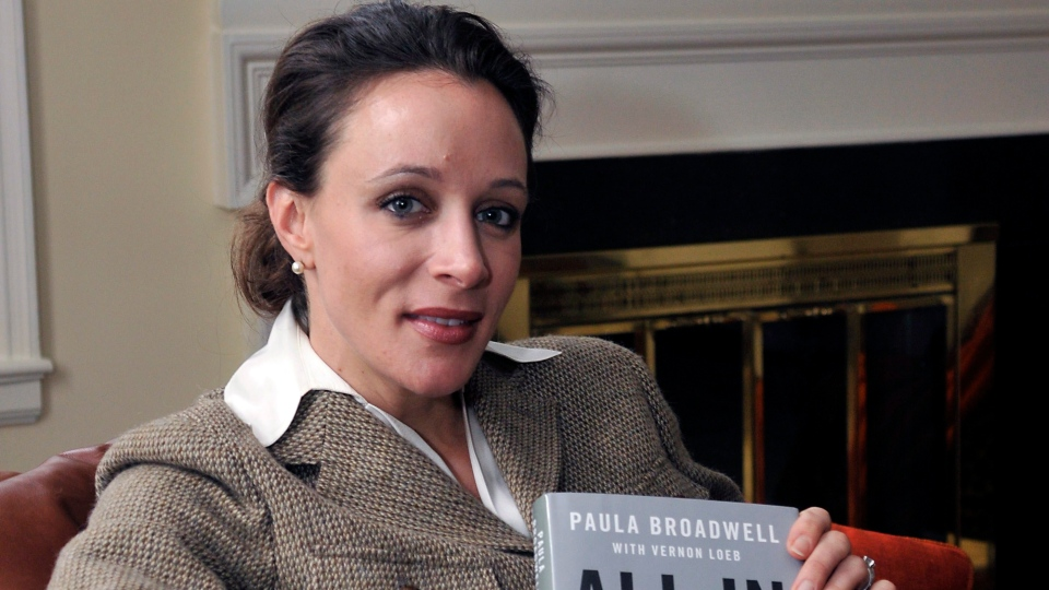 "Paula Broadwell, author of the David Petraeus biography ""All In,"" poses for photos in Charlotte, N.C., Jan. 15, 2012 photo,  (AP / T. Ortega Gaines)"