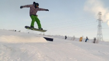 Sunridge Ski Area, snowboarding