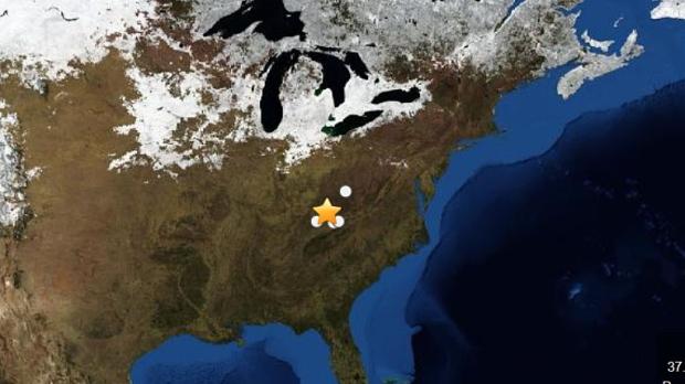 4.3 magnitude earthquake hits Kentucky