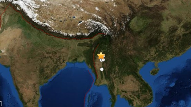 Magnitude 6.6 earthquake hits Myanmar
