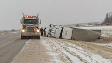 Snow storm in Winnipeg