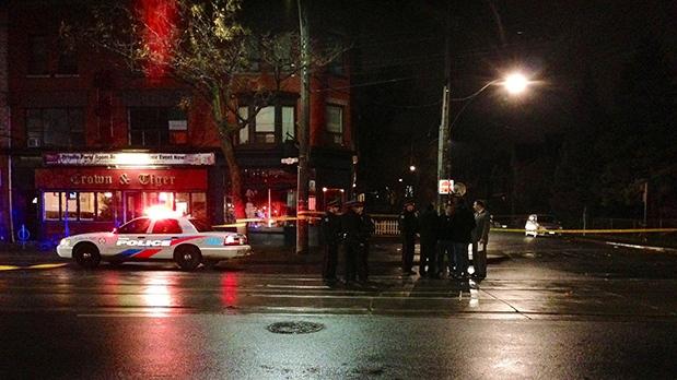 Shooting on Toronto's College Street