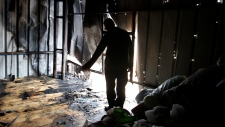 Factory in Beit Hanoun, Gaza Strip, Nov. 11, 2012.