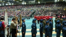 Remembrance Day Edmonton Butterdome