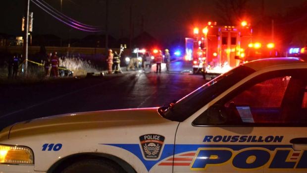 Roussillon police responded to the St-Philippe