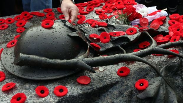 Remembrance Day ceremony in Ottawa