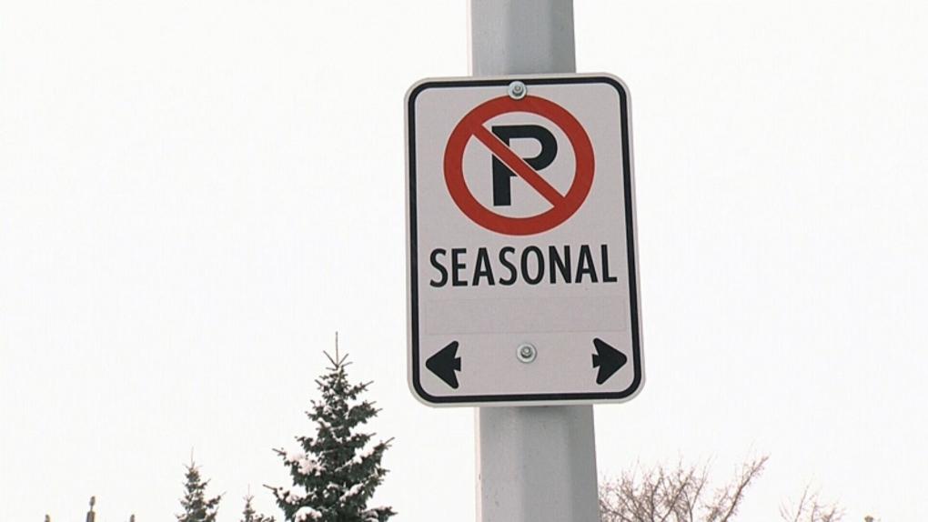 Seasonal Parking Ban