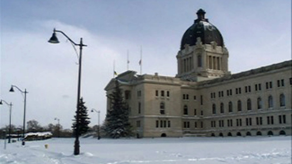 The Saskatchewan Legislative Building has new lights. While they might look vintage, they have the latest LED technology.