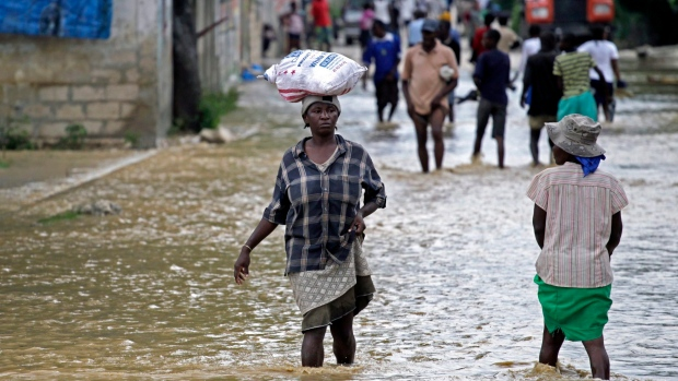 Rain in Haiti displaces thousands