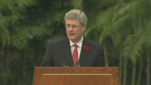 CTV National News: PM Harper in Hong Kong