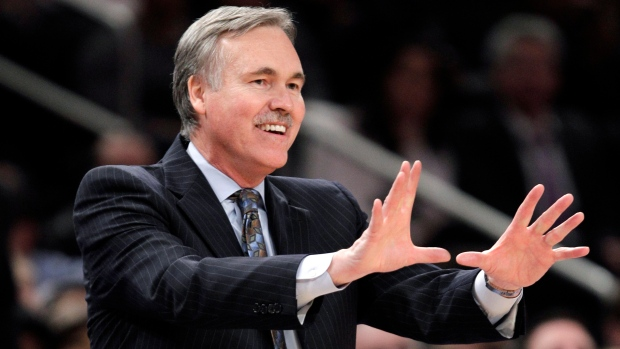 Mike D'Antoni on Feb. 22, 2012.