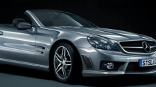 The Mercedes-Benz SL65 AMG convertible. (Mercedes-Benz)