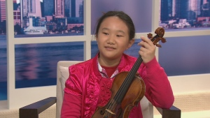 Canada AM: Small musician with big aspirations