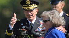David Petraeus wife Holly Petraeus affair