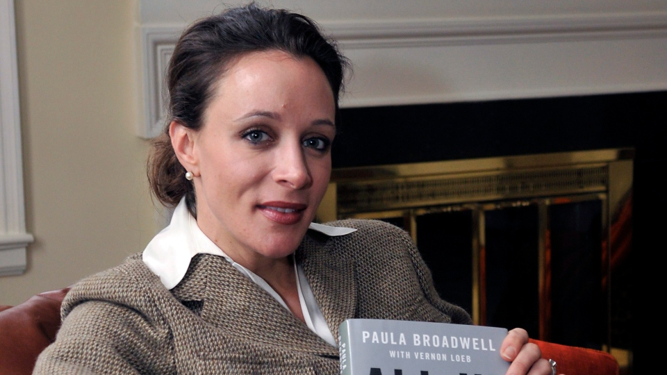 Paula Broadwell poses for photos in Charlotte, N.C., Jan. 15, 2012. (The Charlotte Observer / T. Ortega Gaines)