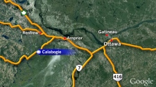Google Map - Calabogie