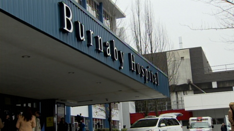 Burnaby Hospital is seen in this file photo from 2012. (CTV)
