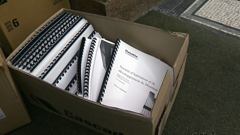 Boxes of reports commissioned by the city of Montreal since 2004 clearly state the city was paying between 30 and 40 per cent extra for construction contracts.