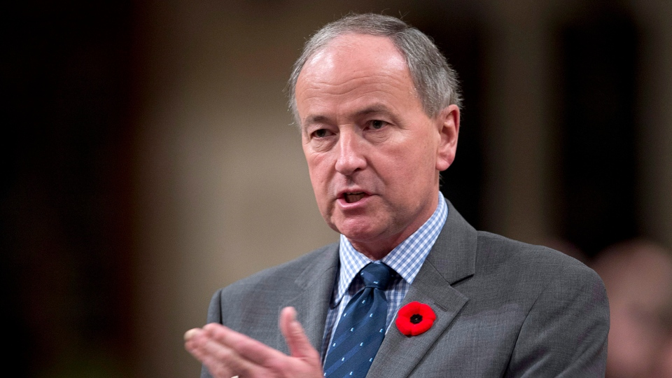 Minister of Justice Rob Nicholson responds to a question during Question Period in the House of Commons in Ottawa, Thursday, Nov. 8, 2012. (Adrian Wyld / THE CANADIAN PRESS)