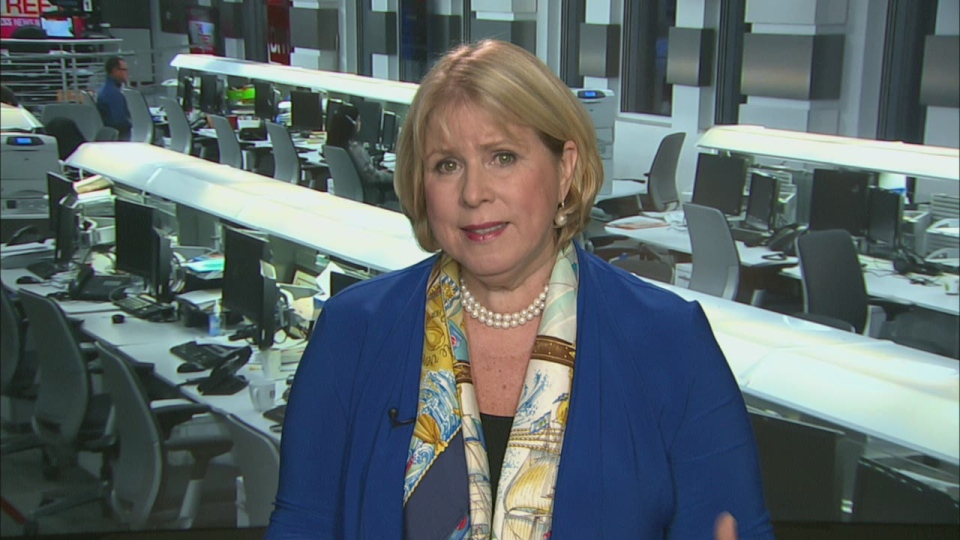 Ontario Health Minister Deb Matthews appear on Canada AM, Tuesday, Nov. 13, 2013.