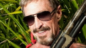 Software company founder John McAfee, who has been identified as a 'person of interest' in the killing of his neighbor, 52-year-old Gregory Viant Faull.