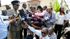 Kenyan Commissioner of Police Mathew Kirai Iteere