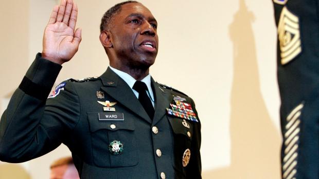 William Ward, U.S. army, demotion