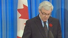 Premier Greg Selinger announced the lakes named after four soldiers on Nov. 4.