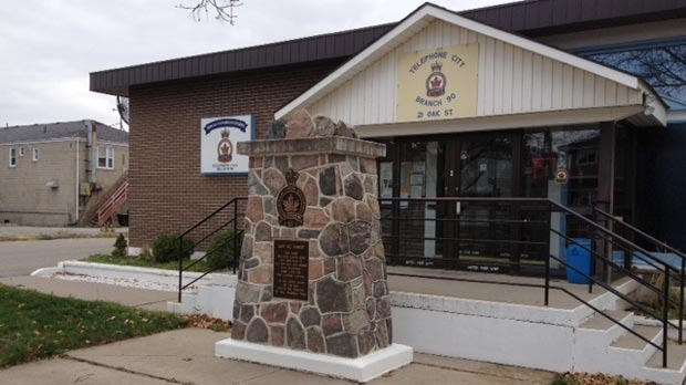A Royal Canadian Legion Hall is seen in Brantford, Ont. on Tuesday, Nov. 13, 2012. (Art Baumunk / CTV Kitchener)