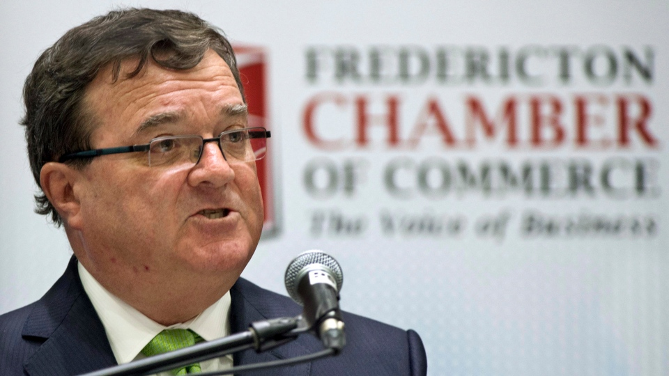 Federal Finance Minister Jim Flaherty delivers his financial update at a business luncheon in Fredericton on Tuesday, Nov.13, 2012. (Andrew Vaughan / THE CANADIAN PRESS)