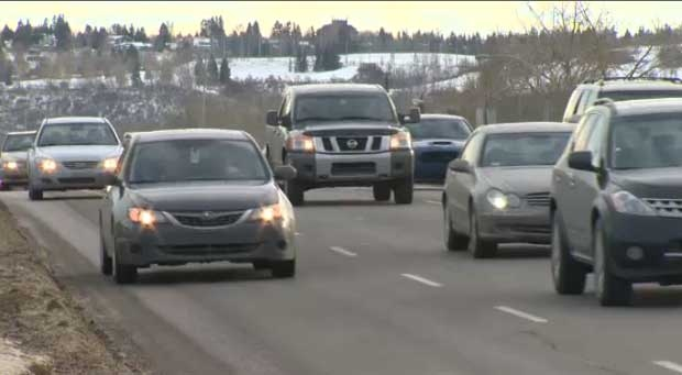 The city says that an expansion of Crowchild Trail would take ten years to plan and cost nearly $1B.
