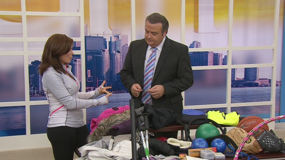 Libby Norris shared her tips to winterize a workout on Canada AM on Nov. 14, 2012.