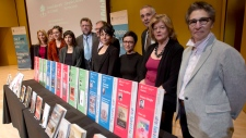 2012 Governor General Literary Awards recipients.