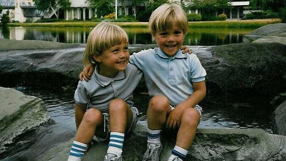 Adrian and Ben Oliver. (courtesy Facebook)