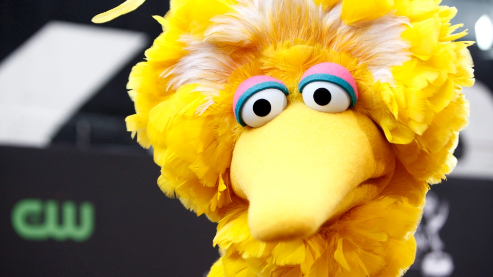 This Aug. 30, 2009 file photo shows Big Bird, of the children's television show Sesame Street, in Los Angeles.  (AP Photo/Matt Sayles, File)