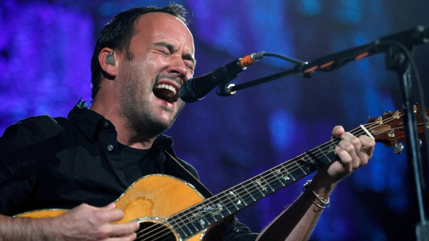 Dave Matthews performs on Oct. 2, 2010.