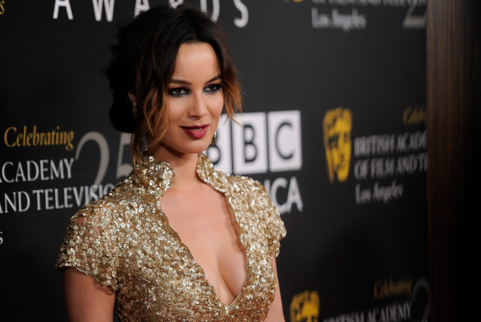 Actress Berenice Marlohe poses at the BAFTA Los Angeles 2012 Britannia Awards at the Beverly Hilton Hotel in Beverly Hills, Calif., on Wednesday, Nov. 7, 2012. (AP / Chris Pizzello/Invision)