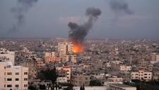 Israel slams Gaza with airstrikes